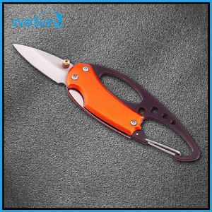 Delicate and Cabinet Fishing Knife with Climbing Button Carabiner pictures & photos