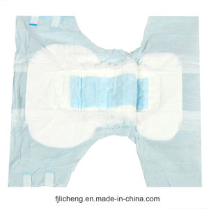 Disposable Adult Diaper with 4 Release Paper