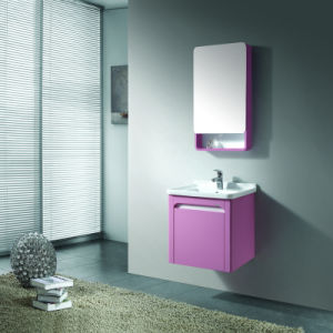bathroom box pink lacquer single sink bathroom vanity unit with medicine box