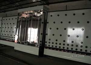 Low-E Glass Washing Machine Vertical Washing and Drying Machine pictures & photos