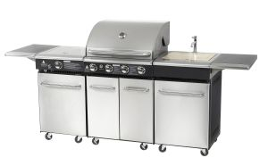 Luxury Outdoor Grill Barbecue Kitchen Cabinet Designs pictures & photos