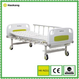 Hospital Furniture for Manual One Crank Medical Bed (HK-N211) pictures & photos
