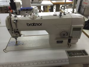 Zhen Hu Electronic Straight Thin Material Sewing Machine (ZH-9880HD) pictures & photos