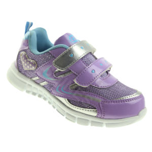 Double Magic Tape Hearts School Shoe Sports Atheltc for Kids