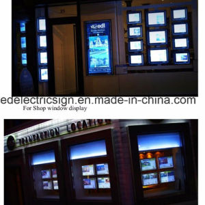 Shop Window Display Crystal Light Box pictures & photos