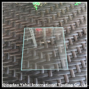 4mm Clear Float Glass with Rough Grinding Straight Edge pictures & photos