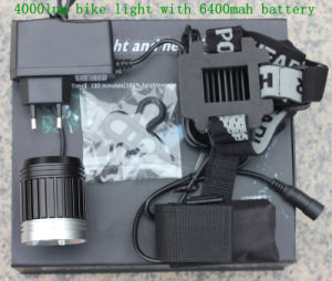 Super Bright 4000lumen LED Light for Bicycle pictures & photos