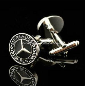 Mercedes-Benz Car Logo Design Cufflinks