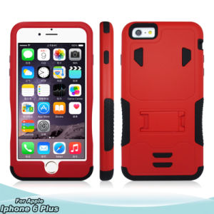 2in1 Belt Clip Holster Robot Phone Cover Case with Kickstand