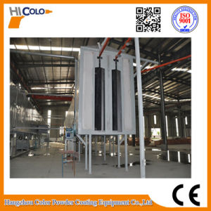 Automatic Powder Coating Plant with Drying and Curing Tunnel Oven pictures & photos