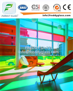 12.38mm Blue Laminated Glass Colored Toughened Bulletproof Laminated Glass pictures & photos