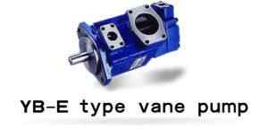 Brand Hydraulic Oil Vane Pump Yb-E40/16 High Pressure Double Pump pictures & photos