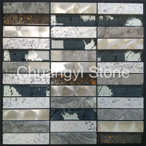 Travertine Mixed Marble Modern House Design Decorative Wall Panels Wall Tile Mosaic pictures & photos