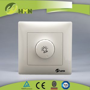 Hermano CE/TUV Certified Euro Standard Switch Socket 1000W Light Dimmer pictures & photos