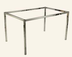 Office Furniture Chrome Plating Metal Desk Legs