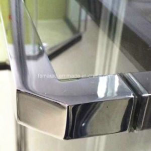 Australian Standard Simple Aluminium Frame Tempered Glass Polished Shower Screen (H802) pictures & photos