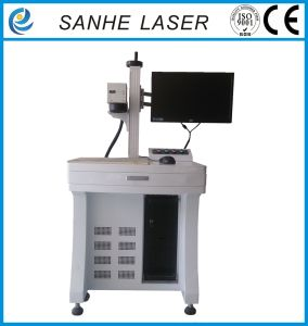 Hot 2017 Fiber Laser Marking Machine for Phone Keys pictures & photos