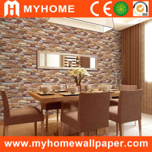 3D Brick Wall Paper for Home Decorative (S-20091) pictures & photos