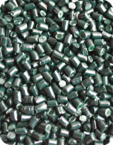 Plastic Additives Green Color Masterbatch G6001A for Spinning, Injection pictures & photos