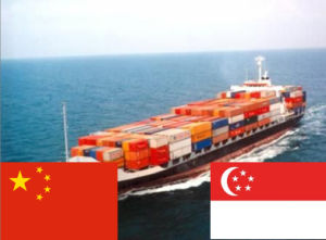 FCL Cargo Transportation From Shanghai China to Singapore