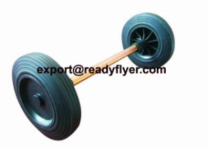 Dustbin Axles and Wheels (EN840-5) pictures & photos