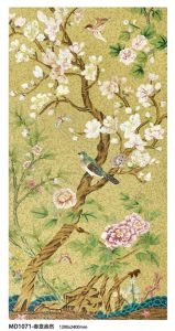 Flower Chinese Painting Art Mosaic (MD1071) pictures & photos