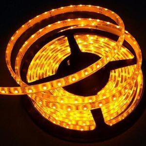 Yellow 5050 LED Strip IP65 Waterproof