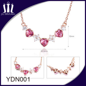 Hot Sale Elegant 925 Sterling Silver Rose Gold Pendant pictures & photos