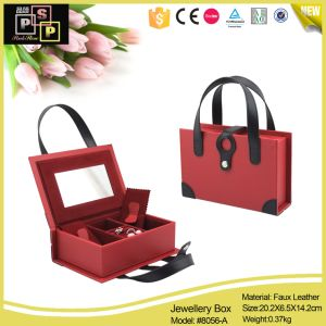 Double Functional Portable and Storable Cases for Jewelry (8056) pictures & photos