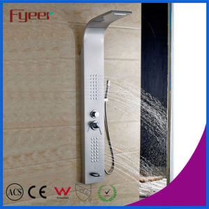 Fyeer High Quality Muitifunction 304 Stainless Steel Shower Panel pictures & photos