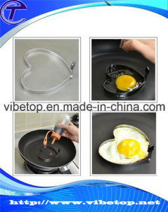 Hot Selling Novelty Egg Pancake Stainless Steel Heart Shaped Mould pictures & photos