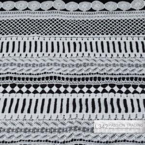 Lace, Garment Accessories Lace Crochet Woven Cotton Fabric Lace, L342