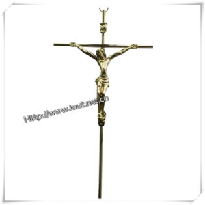 Wholesale Customized Size Exquisite Alloy Crucifix (IO-ca081) pictures & photos