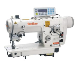 Direct Drive High Speed Zigzag Sewing Machine pictures & photos