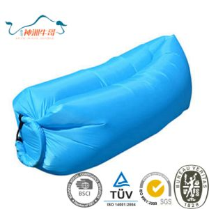 2017 New Design Convenient Inflatable Lazy Beach Sleeping Bag pictures & photos