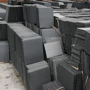 Natural Grey Slate Stone Tiles for Roofing/Wall Cladding