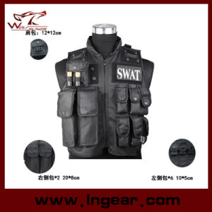 Swat Police Tactical Vest for Airsoft Military Safety Vest pictures & photos