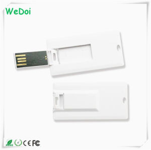 Mini Card USB Flash Drive with Full Color Printing Logo (WY-C09) pictures & photos