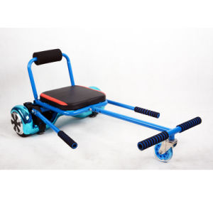 More Comfortable PU Wheel Electric Scooter Steel Frame Hoverkart pictures & photos
