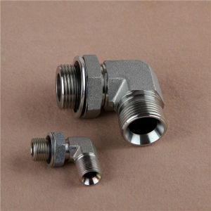 Bsp 60 Degree Cone O-Ring Fitting Hydraulic Adaptor pictures & photos