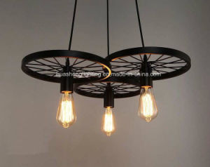 Retro-Style Wheel Pendant Lamp/Classical Hanging Lamp pictures & photos