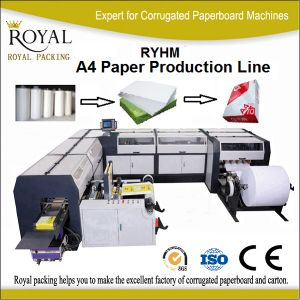 A4 Paper Production Line Office Paper Cutting Machine pictures & photos