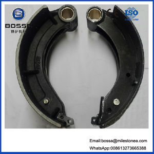Brake Shoe Manufacturing Process 0k56A-26-38z Motorcycle Parts Auto Spare Parts Brake Pads pictures & photos