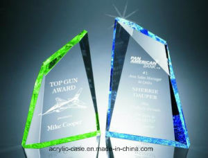 Faced Mountain Cut Acrylic Award (HY-SU093)