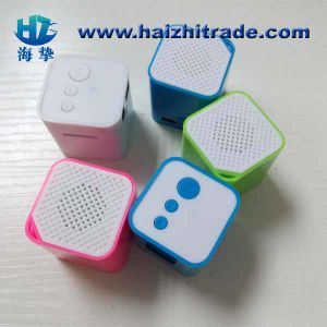 Mini Cube Microsd TF Card MP3 Player with Speaker pictures & photos