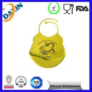 FDA Food Grade Various Animal Design Silicone Baby Bib pictures & photos