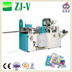 Zj-V 1 Color Printing Handkerchief Machine pictures & photos