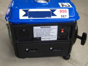 Portable Gasoline Generator 650W, 950 DC Gasoline Generator pictures & photos