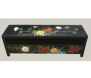 Chinese Antique Furniture Painted Wooden TV Cabinet TV320 pictures & photos