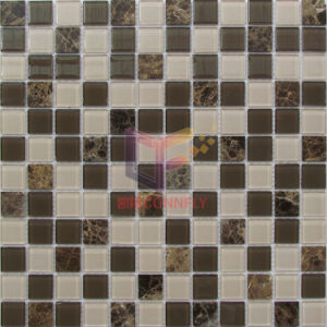 Modern Simple Design Glass Mix Marble Mosaic (CS239) pictures & photos